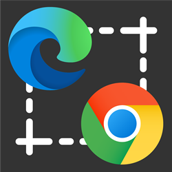 Microsoft Edge and Google Chrome logo