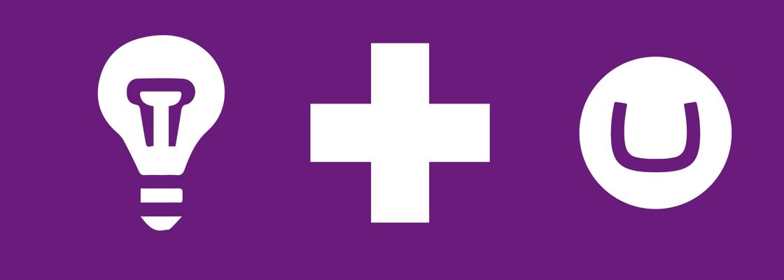 Azure Application Insights logo + Umbraco logo