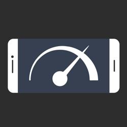 Phone with speedometer