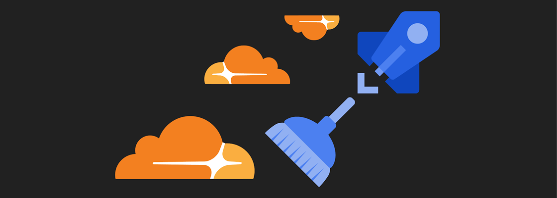 Azure DevOps Pipelines clearing Cloudflare Cache with broom