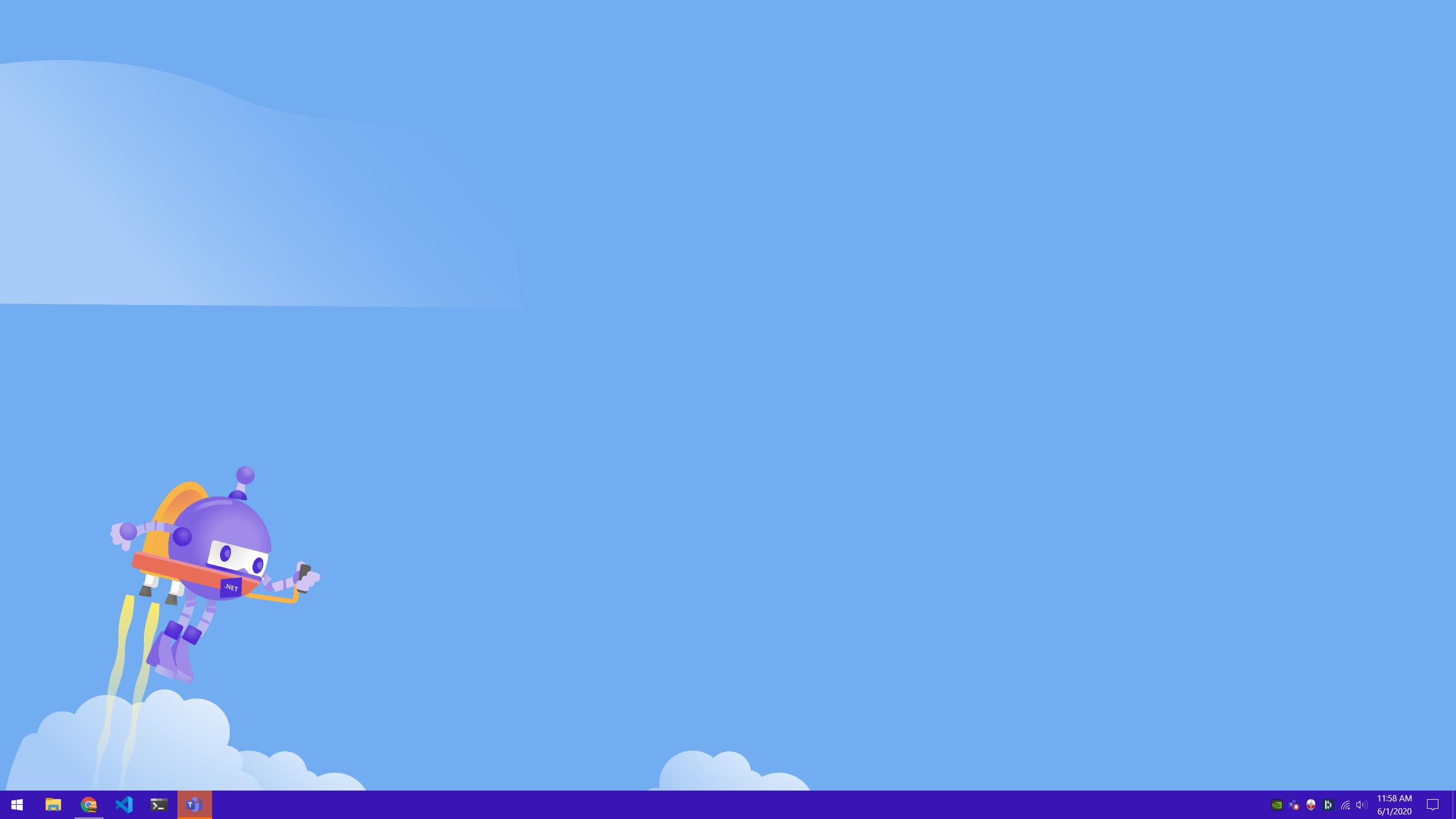 .NET Bot flying a jetpack