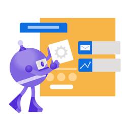 .NET Bot building an application