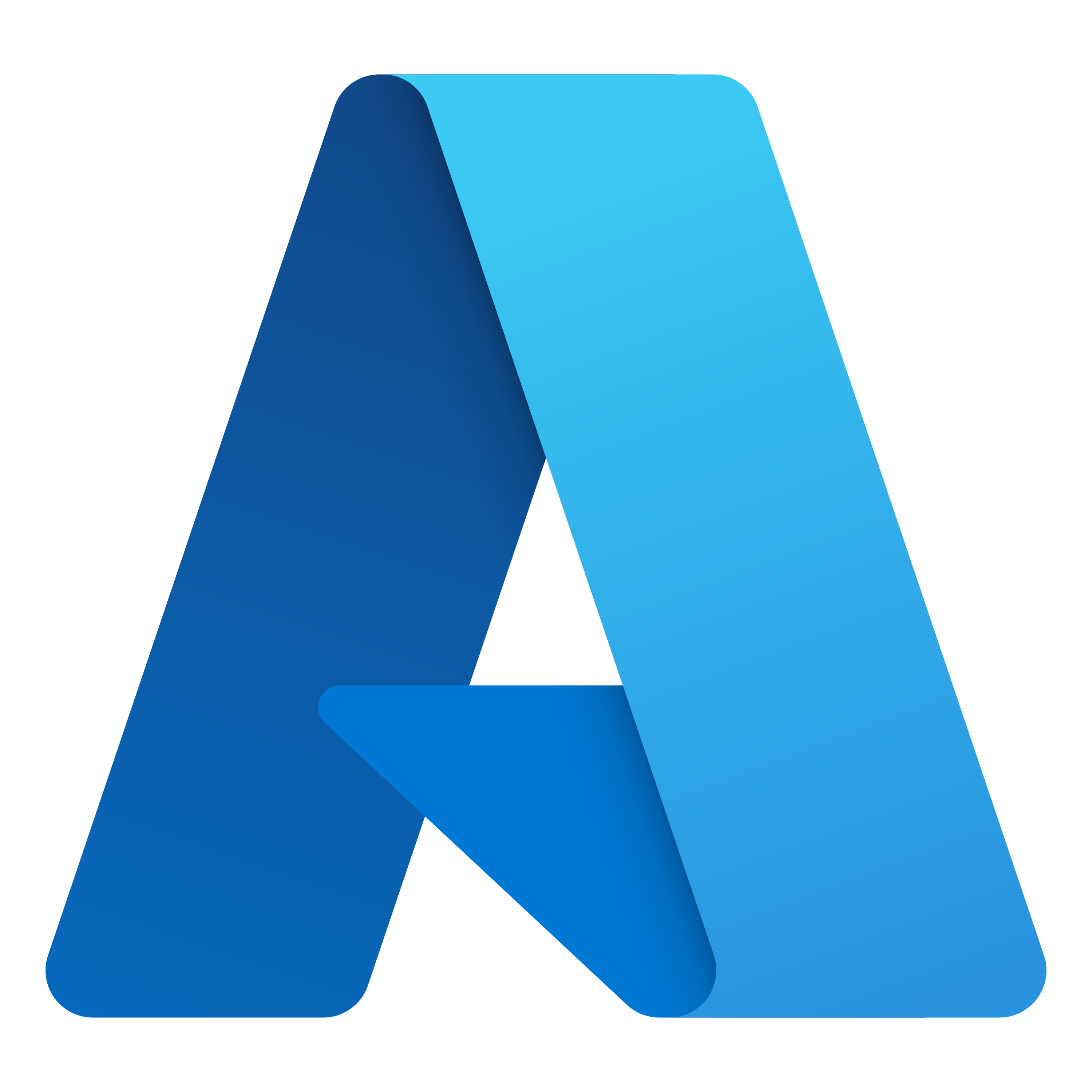 Azure Logo as PNG file with transparent background in high resolution